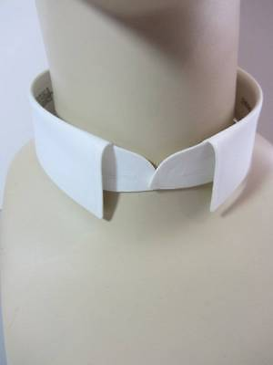 $18.05 • Buy New Vintage Starched Stiff Detachable White Collar 15.5