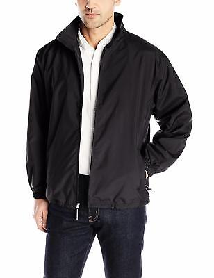BRAND NEW Charles River Apparel Triumph Jacket / Windbreaker Black • 22.22£