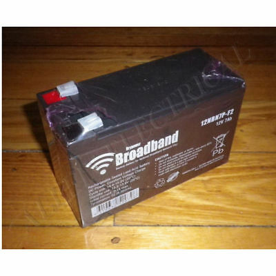 AU39.48 • Buy DryPower 12Volt 7AH NBN Backup PSU Sealed Lead Acid Battery - Part # 12NBN7P-F2