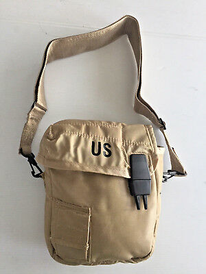 $ CDN12.98 • Buy Unissued Genuine Military Desert Tan 2 Qt.  Canteen Cover W/shoulder Strap