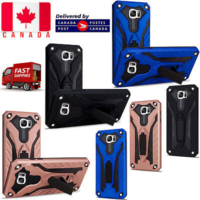 $ CDN6.75 • Buy For Samsung Galaxy S7 Edge ShockProof Armour Builder Heavy Duty Stand Cover Case