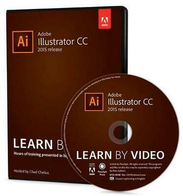 AU106.53 • Buy Adobe Illustrator CC Learn By Video (2015 Release) By Chad Chelius (English) Har