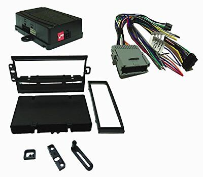 $89.91 • Buy Radio Replacement SWC Retention Single DIN Dash Kit For GM Chevy GMC 2003-2013
