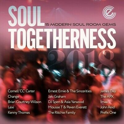 Various Artists - Soul Togetherness 2018 / Various [New CD] UK - Import • 11.45£