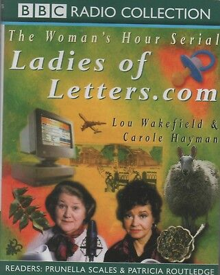 Ladies Of Letters.com By Lou Wakefield & Carole Hayman  ~ Two-Cassette Audiobook • 3.10£