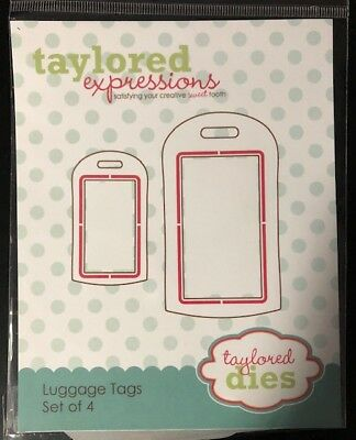 Taylored Expressions Luggage Tags • 19.95$