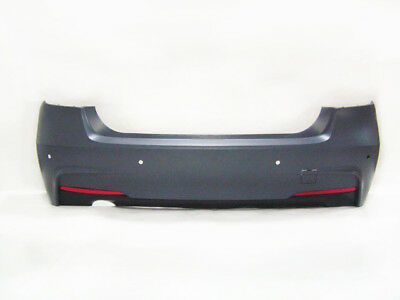 $399.95 • Buy 12-18 BMW F30 MTech Rear Bumper With Single Outlet 320i Diffuser W/ PDC