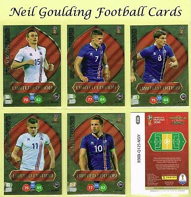Panini WORLD CUP 2018 ☆☆☆☆☆ LIMITED EDITION ☆☆☆☆☆ {BRAZIL EDITION} #469 To #562 • 5.99£