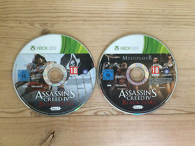 Assassin's Creed IV: Black Flag For Xbox 360 *Discs Only* • 2.89£