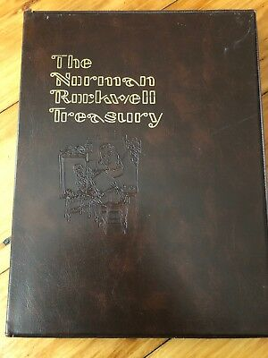 $ CDN13.18 • Buy The Norman Rockwell Treasury By Thomas Buechner 1979 RARE Coffee Table Book