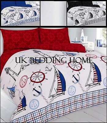 £18.39 • Buy Jake Pirate Printed Design Duvet Cover Set Pillowcase Bedding Quilt Bed All Size