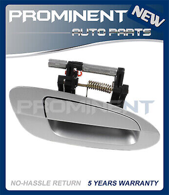 $34.77 • Buy Door Outside Handle  Silver Front Right Replacement For 02-06 Nissan Altima