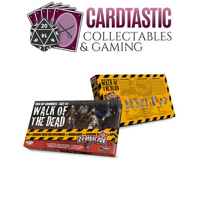 AU33.99 • Buy Zombicide Box Of Zombies #1 Walk Of The Dead