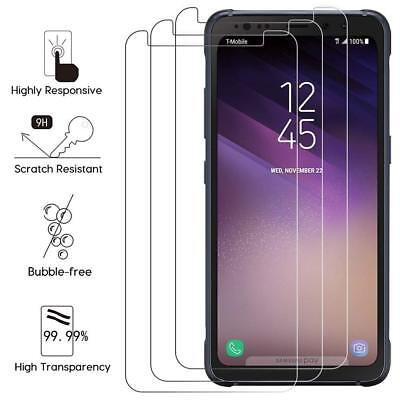 $ CDN3.83 • Buy [3-PACK] For Samsung Galaxy S8 ACTIVE Tempered Glass Screen Protector Film Hi