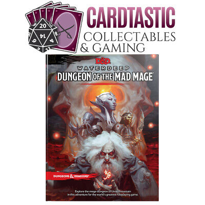 AU48.50 • Buy D&D Waterdeep Dungeon Of The Mad Mage Hard Cover 5th Edition Book