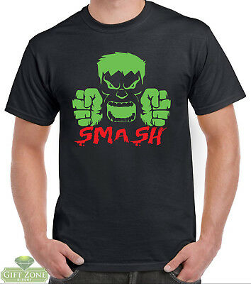Incredible Hulk Smash Avengers Mens T-Shirt • 9.99£