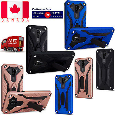 $ CDN4.99 • Buy Samsung Galaxy A5 A8 2018 S7 S8 S9 S10 Plus Heavy Duty Armour Builder Stand Case