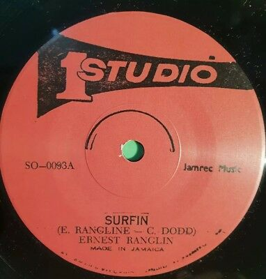 Studio One Surfin / Surfin  Part 2 Ernest Ranglin 45 (limited) 7  • 12.95£