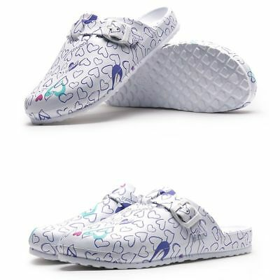 Medical Shoes Hospital Nursing Breathable Comfortable Anti Slip Women Slippers • 21.08£