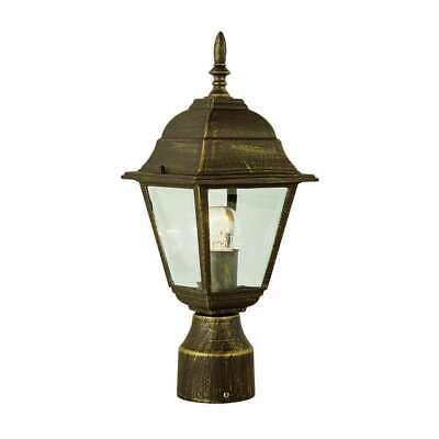 Trans Globe Amherst 20  High Post Top Lamp In Black Copper - 4414 BC • 32.18£