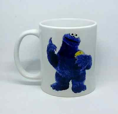 £8.99 • Buy Cookie Monster Coffee Mug Novelty Cartoon Quote Work Gift Christmas Present Cup