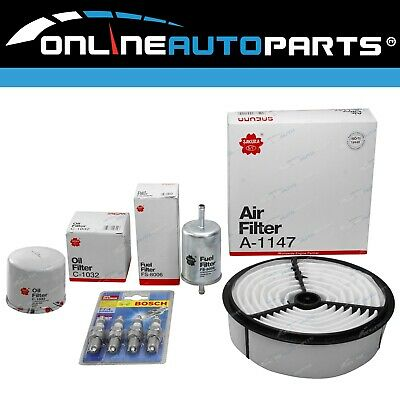 AU54 • Buy Air Oil Fuel Filters + Spark Plugs Suits Rodeo TFR17 TFS17 4cyl 4ZE1 2.6L 88~98