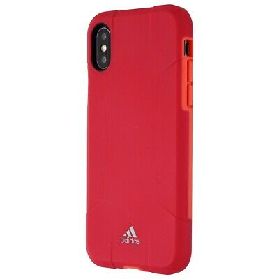 AU15.69 • Buy Adidas Solo Series Hybrid Hard Case For Apple IPhone X - Pink