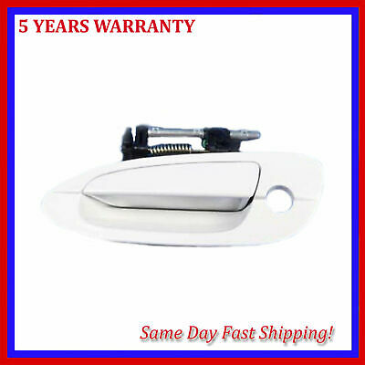 $24.10 • Buy For Nissan Altima 2002-2006 Pearl White QX3 Outside Outer Door Handle Front Left