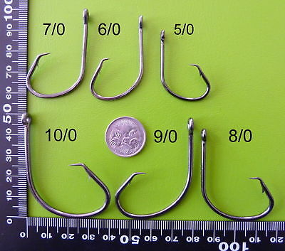 AU16.14 • Buy SELECT  DFS Octopus SPORT CIRCLE Fishing Hooks 3/0 4/0 5/0 6/0 7/0 8/0 9/0 10/0