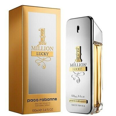 AU134.90 • Buy Paco Rabanne 1 Million Lucky 100ml EDT (M) SP Mens 100% Genuine (New)