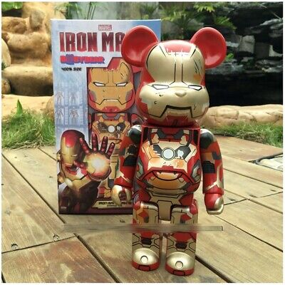$265.99 • Buy Bearbrick Be@rbrick Iron Man The Marvel 400% 28CM Original Box *LIMITED EDITION*