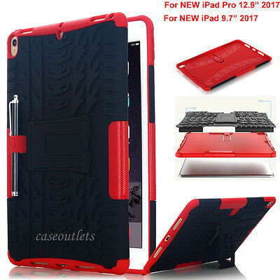 AU12.99 • Buy For NEW IPad Pro 10.5 /9.7  2017 Heavy Duty Shockproof Case W/ Kickstand Cover