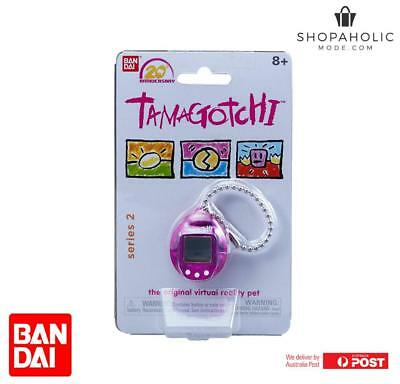 AU33.20 • Buy Bandai Tamagotchi 20th Anniversary Series 2 Chibi Translucent Purple With White