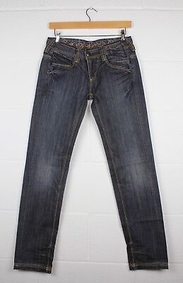 Ringspun Misty Womens Jeans - Blue Denim - Size 28r - Rrp £75.00 • 25£