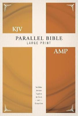 AU65.99 • Buy KJV, Amplified, Parallel Bible, Large Print, Hardcover, Red Letter Edition: Two