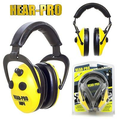 HEARING PROTECTION / ELECTRONIC EAR DEFENDERS For SHOOTING HUNTING DIY 27dB SNR • 36.99£
