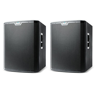 £840 • Buy 2x Alto TS218S 18  2500W Powered Active Subwoofer Sub Bass Speaker + Crossover