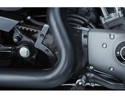 Kuryakyn Satin Black Mesh Front Pulley Cover For Harley 04-18 XL Sportster 6555 • 117$