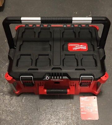 a842931a584 Milwaukee Packout Large Tool Box 48-22-8425 New