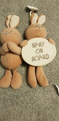 I Love My Bear Baby On Board And Plush Toy • 4.99£
