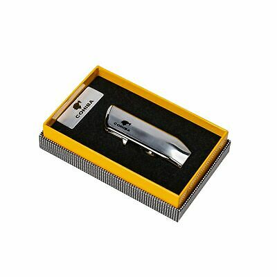 Cohiba Lighter Windproof Metal 3 Jet Lighter Cohiba Cigar Lighter Punch  • 26.99£