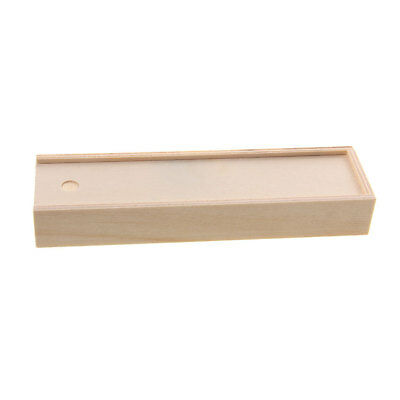 $4.78 • Buy Unfinished Wooden Jewelry Jewel Box Case For DIY Art Crafts Woodworking Toys