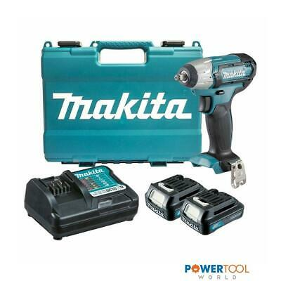 Makita TW140DWAE 10.8v CXT Slide 3/8  Impact Wrench Inc 2x 2.0Ah Batts • 132.95£