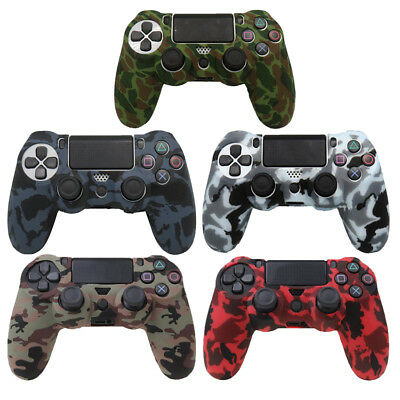 AU4.88 • Buy Silicone Rubber Soft Skin Gel Cover Case For Playstation 4 PS4 Controller Skin