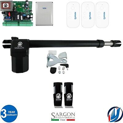 £194.99 • Buy Electric Gate Swing Opener Complete Kit One Left Ram Single Leaf 3remote Control