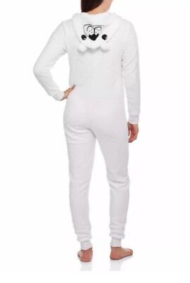 Polar Bear Hooded Non Footed Pajamas Costume 1 PC Hoodie XL NWT LAST ONE • 28.94£