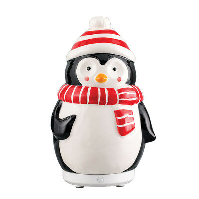 AU38.29 • Buy Pennie The Penguin Ultrasonic Ceramic Essential Oil Diffuser Christmas Holidays