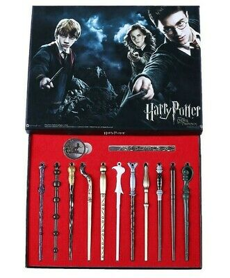 $18.88 • Buy New 11 PCS Harry Potter Hermione Dumbledore Snape Magic Wands With Box Halloween