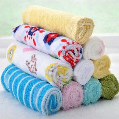 AU7.36 • Buy 8pcs Baby Bulk Pack Wash Cloth Washers Face Hand Towels Wipe Soft Towels MH