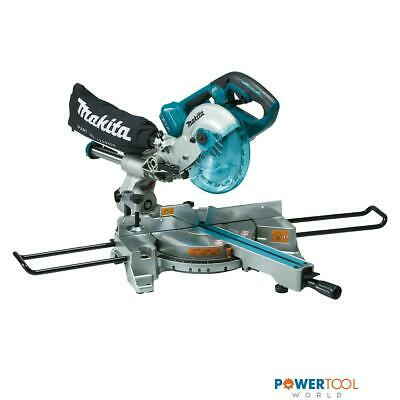 Makita DLS714NZ Twin 18v Cordless Brushless Slide Compound 190mm Mitre Saw Body • 549£